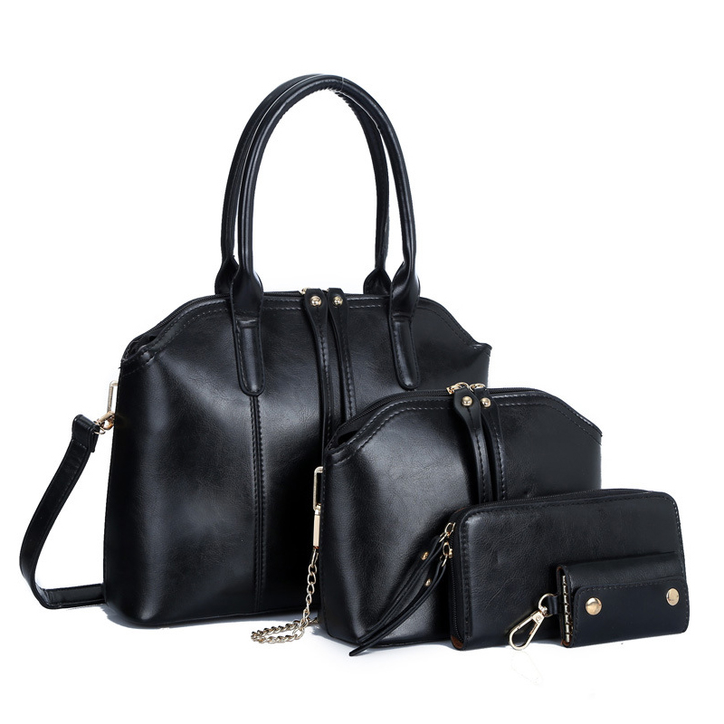 4 Set Famous Brand Shoulder Bag Handbag Pu Leather Women Handbag High Quality Messenger Bag for Women Female Tote Bag Mujer стоимость