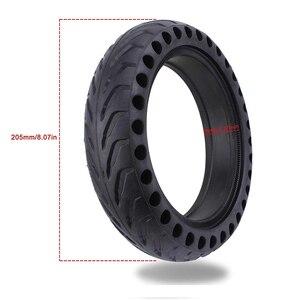 Image 3 - Neumáticos huecos para patinete eléctrico Xiaomi Mijia M365 Pro, amortiguador de goma