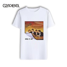 Westlife 20th Anniversary Album Poster New Man Modal O-neck plus size  Print t-shirt COYICHENOL