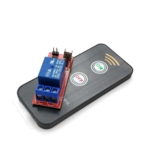 Dc12v 1 canal módulo de relé infravermelho ir controle interruptor remoto 1 ch relé placa condução controlador para eletrônico diy