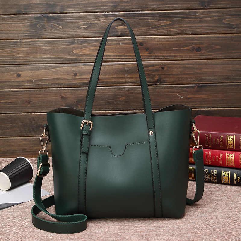 Bolsos de cuero genuino para mujer, bolso bandolera de cuero para mujer, bolso de mano Casual de gran capacidad, bolso femenino de lujo nuevo C830