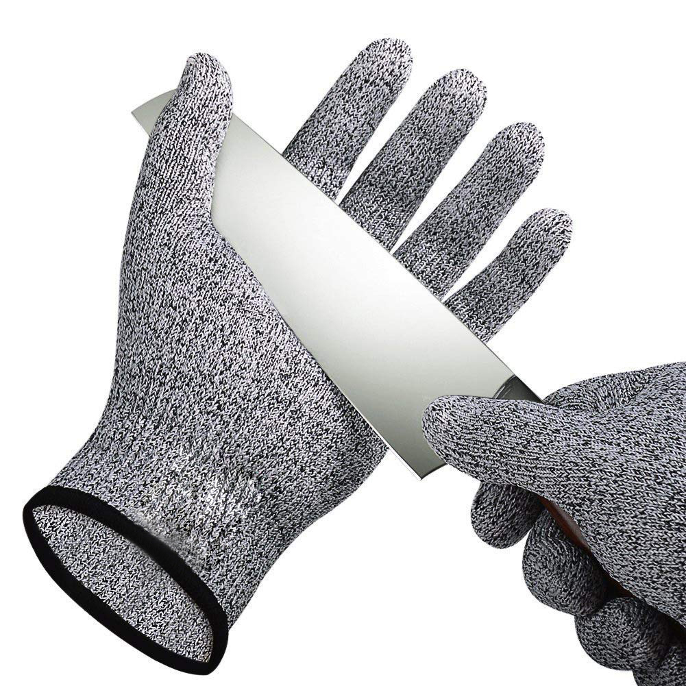 US $2.38 35% OFF 1Pairs Cut Resistant Gloves Food Grade Level 5 Protection  Safety Kitchen Cuts Gloves for Oyster Fish Meat Cutting Safety Gloves-in ...