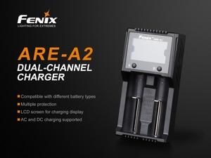 Image 2 - Fenix ARE A2 18650 3,7 v cargador de batería recargable + 12v DC