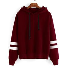 2019 Autumn Women Hoodie Casual Long Sleeve Hooded Pullover Sweatshirts Female Jumper Tracksuits Sportswear