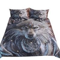 Home Textile Bedding Three Piece 3D Print Duvet Cover Constellation Bed Set Bohemian Bedclothes