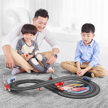 1:52 Track Toys Handle Remote Control Car Toy Race Car Kid's Developmental Toy genuine rc car toys high speed track 1 43 electric wired remote racing car toys learning diy building creative track toy for boy