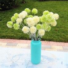 5 Head cong qiu Artificial Flowers Wholesale Mori Series Wedding Plastic High-Grade Garden Style