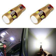 1 Piece Car Styling Led Bulb Lights T10 27 Smd W5W 3014 Marker Light Parking Lamp Cars