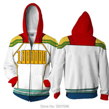 WXCTEAM My Hero Academia Cosplay Coat izuku midoriya shouto todoroki Jacket Zipper