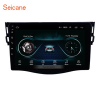 Seicane Android 8,1 2Din Автомобильный GPS; Мультимедийный проигрыватель для 2007 2008 2009 2010 2011 2013 Toyota RAV4 Поддержка Рулевое управление