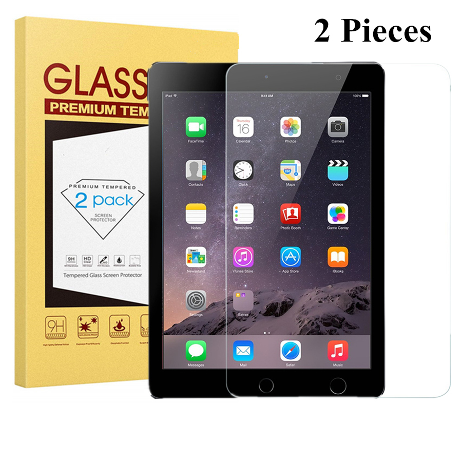 2Pack Film Cover Tempered Glass Screen Protector Film For Apple iPad 2 3 4 US