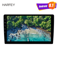 Harfey Universal Double Din 9 Android 8.1 Car GPS Multimedia Player Unit Support Mirror Link Steering Wheel Control WIFI DVR