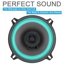 1pcs 5 Inch Max 100W 130MM Car HiFi 2 way Coaxial Speaker Ve
