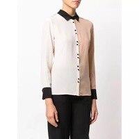 Женская шелковая рубашка 100%