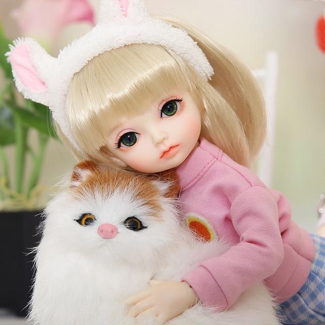 OUENEIFS Hebbe BJD YOSD Doll 1/6  Body Model Baby Girls Boys High Quality Toys Shop Resin Figures