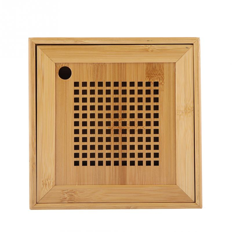 Mini Square Bamboo Tea Tray 2