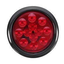 1Pcs 4Inch Truck Trailer Lights DC 12V LED Car Turn Stop Bra