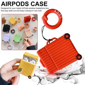 Image 2 - حار شعبية حقيبة شكل غطاء من السيليكون لأبل Airpods بلوتوث سماعة الملحقات ل Airpod سماعة الغطاء الواقي