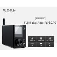 SMSL AD18 Full digital Amplifier & DAC 80W*2 DSP HIFI Bluetooth 4.2 NFC Optical/Coaxial USB DAC Decoder with Remote Control