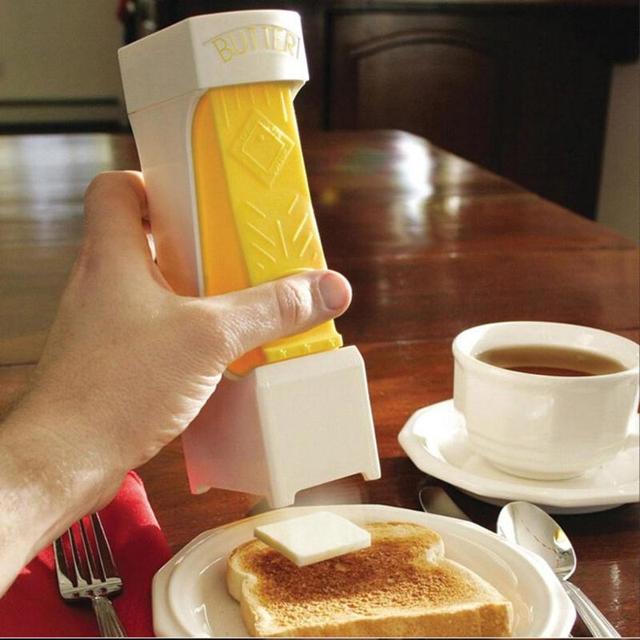 Brinde Slicer Cortador Ralador de Queijo Dispenser Durável Triturador de Manteiga De plástico Ferramentas De Cozinha De Chocolate para o Cozimento de Pastelaria Ferramentas