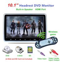 Professional 10.1 Inch 1024*600 Resolution CAR MP5 Media Player DVD Headrest Multimedia Monitor TFT LCD Screen Easy To Stall