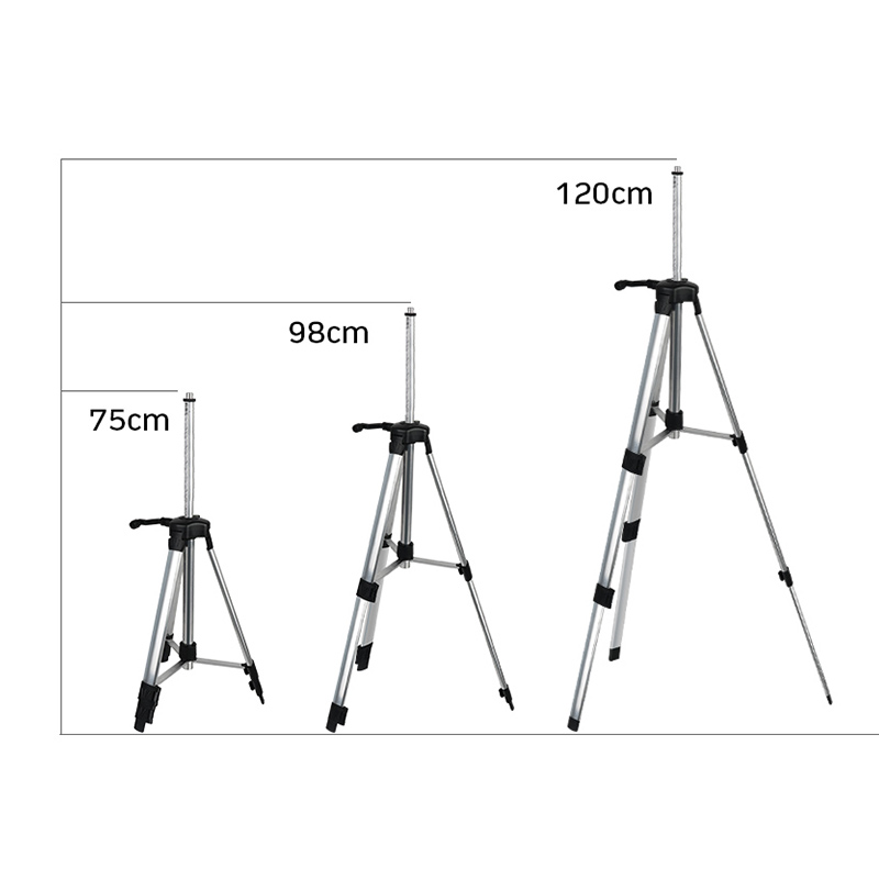 Aluminium legierung Stativ 120 CM/1,2 M Laser Level Stativ Nivel Laser Stativ für Laser Ebene Einstellbare Stativ