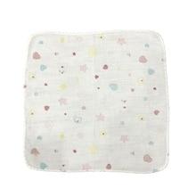 1PC Durable Pratical Safe Comfortable Convenient Towel Family Supplies Face Towel Square Scarf Handkerchief Baby Bibs