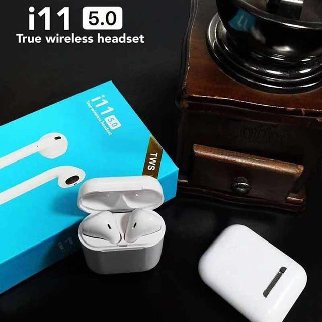 c294f1e79f3 Original i11 ifans Air pods 1:1 TWS Wireless Bluetooth 5.0 super bass  stereo Earbud for iPhone meizu pop Xiaomi airdots ear pods