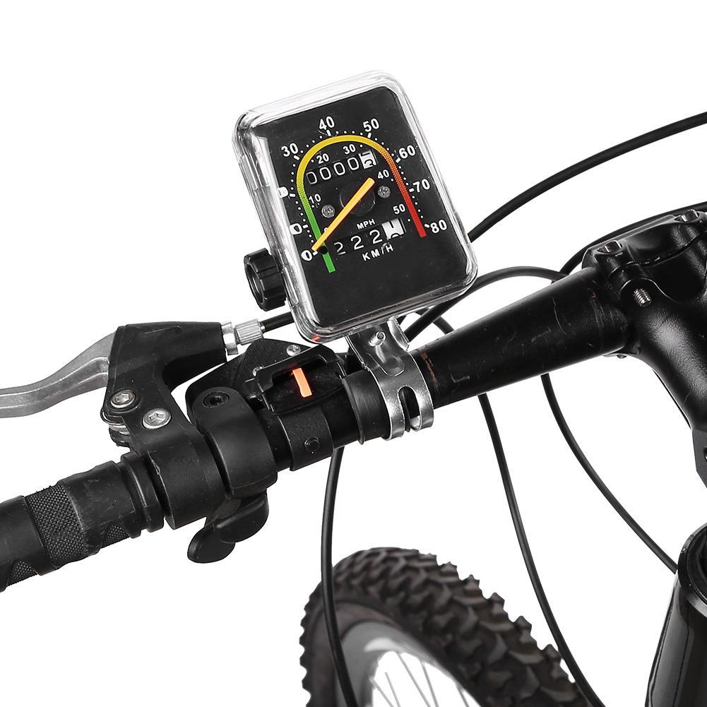 2018 Waterproof Bike Bicycle Stopwatch Cycling Computer Odometer Speedometer