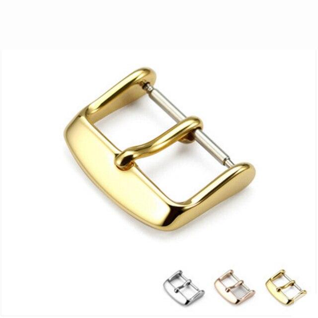 Аксессуары для часов Часы пряжка серебро золото черный нержавеющая сталь Ремешок Застежка наручные часы ремонт инструмент 16 мм 18 мм 20 мм 22 мм