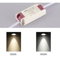 COB Downlight LED Ceiling Bulbs Spot Light AC85 260V for Living Room Bedroom Hallway Office