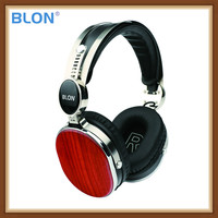 BLON Bosshifi HD08BT Wooden Bluetooth V4.1 Headset Portable 40mm Speaker Dynamic Hifi Music Wireless Handsfree Stereo Headphone