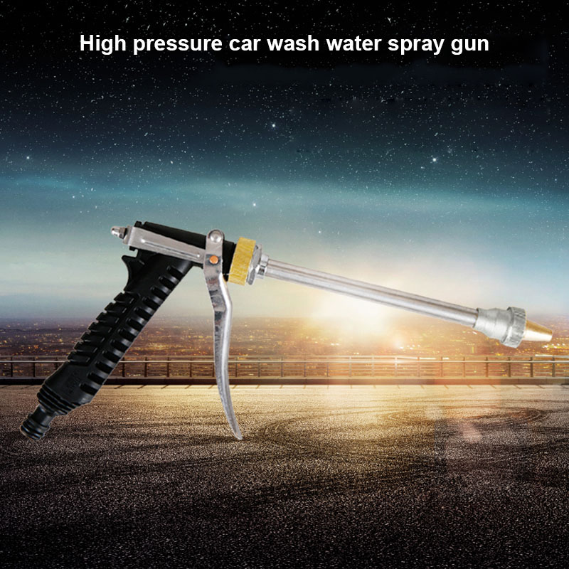 High Pressure Water Spray Tool Brass Nozzle Garden Hose Pipe Lawn for Car Wash Gardening WXV Sale in Tool Parts from Tools