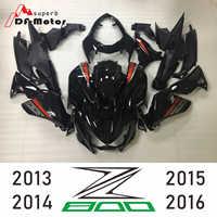 Complete High Quality ABS Injection Plastics Fairings Kit For Kawasaki Z800 2013 - 2016 13 14 15 16 Orange Matte Black Bodywork