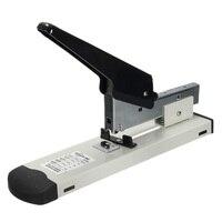 Huapuda тяжелый тип металлический степлер переплет скреплка 120 Лист емкость Офисные инструменты