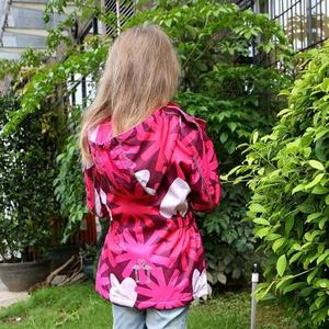 Image 3 - Waterproof Girl Jacket 2020 Spring Autumn Girls Polar Fleece Coats Children Jackets Double deck Kid Sport Jackets