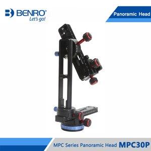 Image 3 - Benro MPC30P głowica panoramiczna przez trzy Dimentional fotografowanie panoramiczne aluminium Benro serii MPC głowica panoramiczna DHL darmowa wysyłka