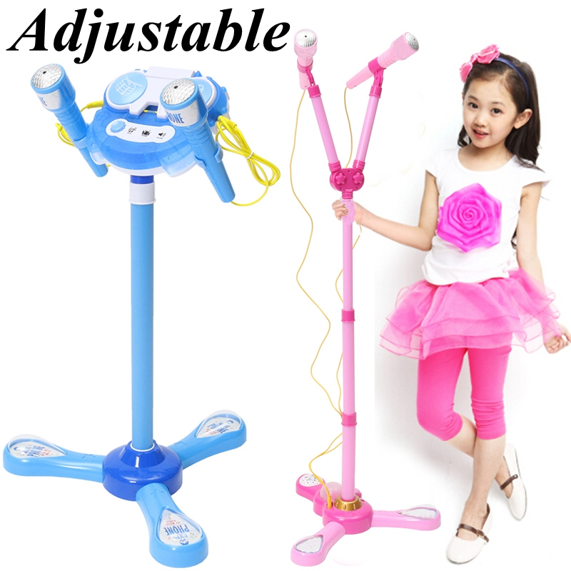 Children Karaoke Machine Sing Microphone Musical Toy MP3 Mobilephone External Stand Microphone Speaker Toys Creatives Music GiftChildren Karaoke Machine Sing Microphone Musical Toy MP3 Mobilephone External Stand Microphone Speaker Toys Creatives Music Gift