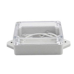 Image 5 - جديد لتقوم بها بنفسك ABS علبة توزيع إلكترونيات IP65 الالكترونيات الصغيرة الضميمة البلاستيك الضميمة مقاوم للماء صندوق وصلات صندوق التبديل ستة حجم