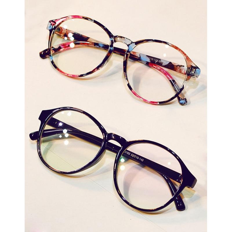 Retro Vintage Glasses Women Clear Lens Oval Nerd Glass Frame Attractive Party Eyewear Selfie Pose Lady Soild Glasses in Men 39 s Eyewear Frames from Apparel Accessories