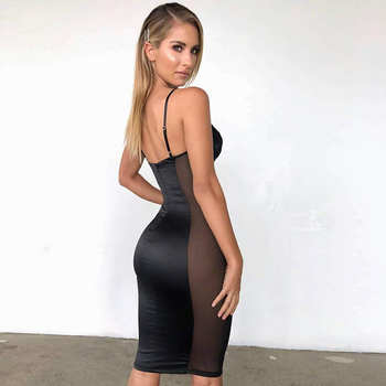 2020 Fashionable Sexy Cut Party Dress 2