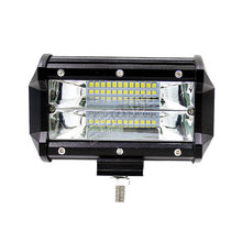 цена на free 2x72W 5in led light bar high power spot flood beam for off road ATV UTV 4x4 automotive truck 12V 24V  led work light bar
