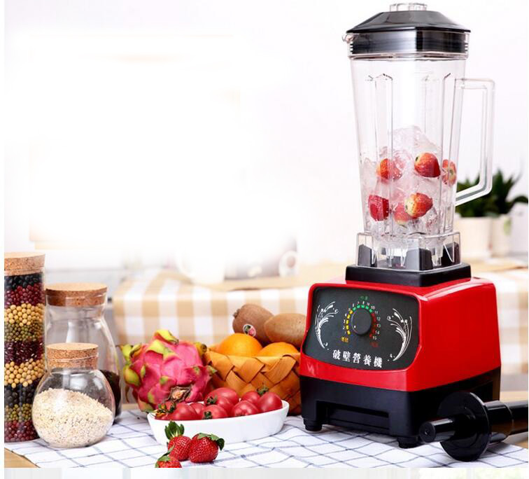 US/EU/AU Quality  FREE  1600W Heavy Duty Commercial Blender Juicer Ice Smoothie Professional Processor Mixer