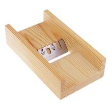 Деревянный мыльный нож для хлеба Beveler строгальный Режущий инструмент для ручной работы DIY мыльницы