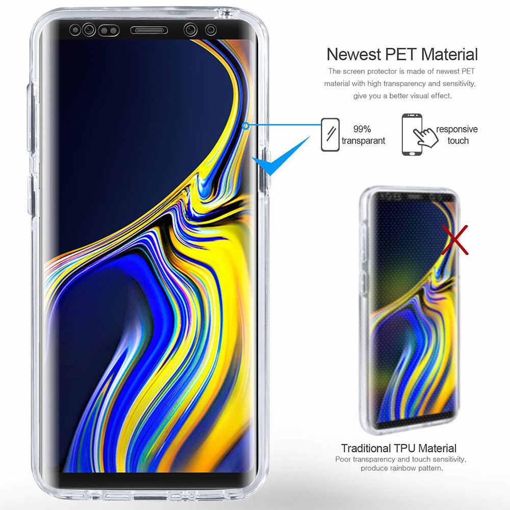 KISSCASE Rõ Ràng Trường Hợp đối Với Samsung Galaxy s10 s9 s8 cộng với s10e 360 đầy đủ Bao Phủ Trường Hợp đối Với Samsung Galaxy s10 a5 2017 a8 2018 Bao Gồm