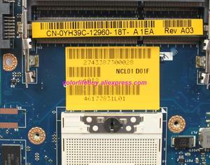 Image 3 - Chính hãng YH39C 0YH39C CN 0YH39C LA 5472P w N10M NS S B1 GPU Máy Tính Xách Tay Bo Mạch Chủ cho Dell Latitude E6410 Máy Tính Xách Tay PC