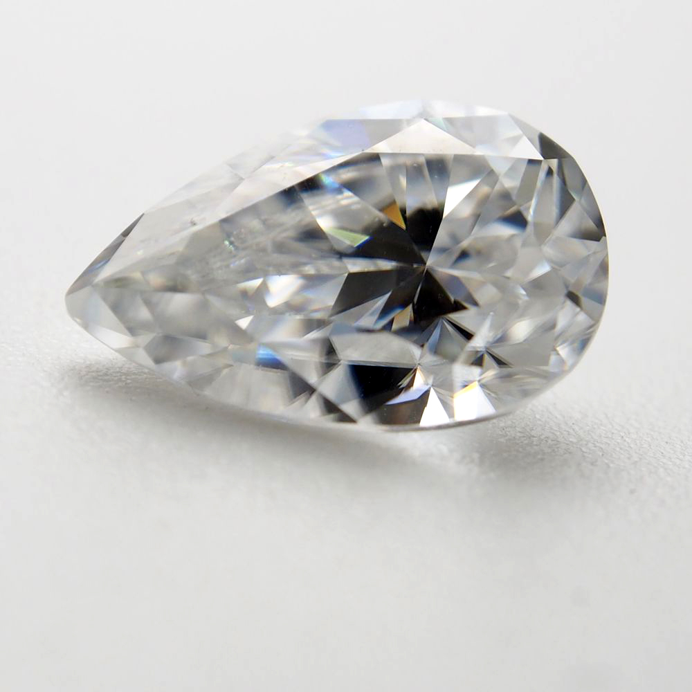 5 8mm pear Cut 0 85 carat VVS Moissanite Moissanite Stone Loose Moissanite Diamond