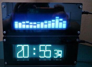 Baterías De Audio Para El Automóvil | DYKB VFD FFT Espectro De Música VFD Nivel De Reloj Indicador De Audio Ritmo Pantalla De Visualización LED Medidor De Voz OLED + Coche Remoto Mp3 Amplificador