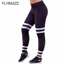 2019 Women Sport Slim Pants Sexy Push Up Gym Sport Leggings Women Running Tights Skinny Joggers Pant Compression Gym Dance Pants stylish women s hit color skinny sport leggings