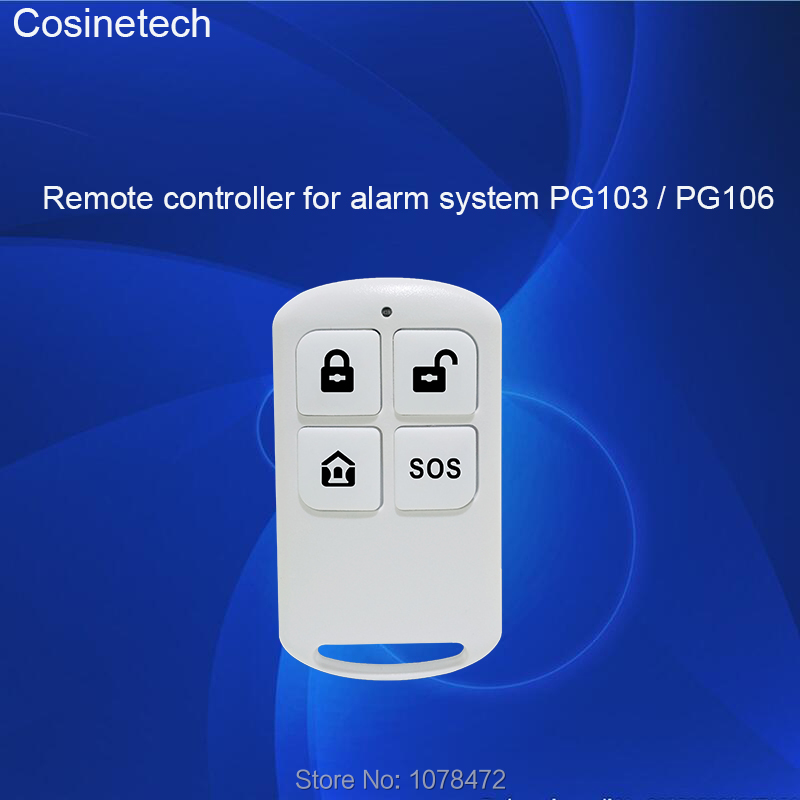 PG103,PG106,PG105,PG168 Alarm System Remote Controller,keyfob For GSM 3G Home ALARM System,distance Controller For PGST Marlboze
